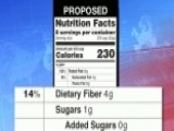 WH Proposes New Food Labels Stressing Calories, Sugar
