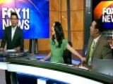 Watch As Earthquake Interrupts Local Newscast In Los Angeles