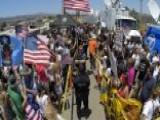 What Border Crisis? Washington's Going On Vacation