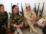 Women Peshmerga Fighters On Frontlines Against Islamic State