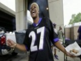 Women Wear Ray Rice Jerseys To Show Support At Ravens Game