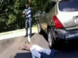 Would-be Carjacker Picks Wrong Car