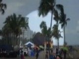 Wind Launches Bounce House Into The Air Three Kids Hurt