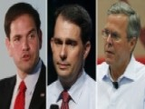 Walker Challenges Bush, Rubio Top-tier Status