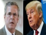 War Of Words Between Jeb Bush And Donald Trump