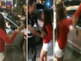 Woman Caught On Tape Attacking Uber Driver