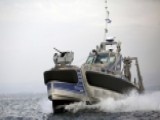 Watch: Robot Warship Takes To The Sea