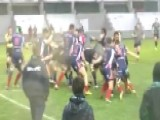 Wild On-field Brawl Breaks Out At Rugby Match