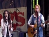 We The Kings And Elena Coats Perform 'Sad Song'