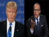 Who Wore It Better: Lester Holt Or Donald Trump?