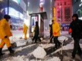 Winter Storm Closes New York Schools, Suspends Some Subways