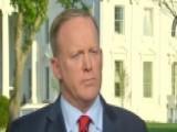 White House Press Secretary Clarifies His Holocaust Comment