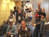 Wounded Warriors Inspire Sick Children