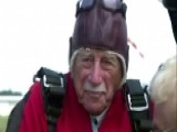 WWII Veteran Goes Skydiving For 96th Birthday