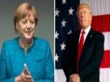 White House: Trump And Merkel 'get Along Very Well'