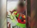 Woman Seen On Video Letting Snake Bite Toddler