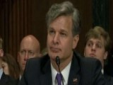 Wray: No Reason To Doubt Intel Community On Russia Meddling