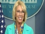 WH: Trump's Quarterly Salary To Go To Dept. Of Education