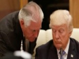 White House Denies Tension Between Trump And Tillerson