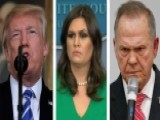 White House On Comparing Allegations Against Moore, Trump