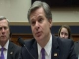 Wray: I Could Not Be More Proud To Represent The FBI