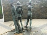Walk Of Heroes Veterans War Memorial Vandalized