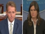 White House: Sen. Jeff Flake Is Looking For Attention