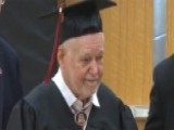 World War II Veteran Receives His Diploma