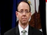 Will Congress Hold Rod Rosenstein In Contempt?
