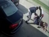 Warning, Graphic Video: Robbery Suspect Runs Over Victim