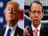 White House: Rosenstein To Meet With Trump On Thursday
