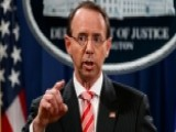Where Rod Rosenstein's Job Stands Amid The Rumors