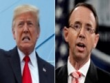 White House: Trump, Rosenstein Spoke For 30 Minutes