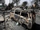 Wildfire Leaves Devastating Destruction In Malibu