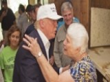 You're Going To Rebuild: Trump Consoles Flood Victims