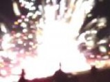 Zach Reister Videos Firework Malfunction In Simi Valley