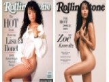 Zoe Kravitz Recreates Mom's Iconic Rolling Stone Cover