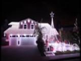 AMAZING Little Drummer Boy Christmas Light House