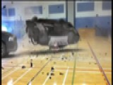 Car Flips In Gym