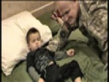 He Must Be Dreaming- Dad Returns From Iraq