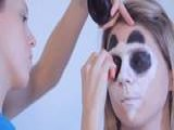 Learn How To Do Face Painting: Panda Bear