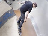 Learn How To Skateboard With Bam Margera: Ramp Tricks 50 50