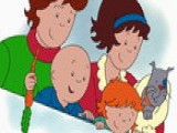 Caillou: Springtime Caillou's Family Fun