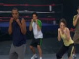 Gaiam Celebrity Fitness: Sugar Ray Leonard & Laila Ali: L
