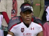 2012 Athlete Cyrus Jones Commits