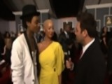 54th Grammy Awards - Wiz Khalifa & Amber Rose Interview - Season 54