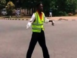 Breakdancing Traffic Warden