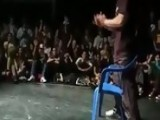 Breakdancing With A Chair
