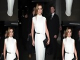 Cheryl Cole Wows In Grecian Dress To Meet Prince Charles