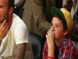 David Beckham Celebrates Son Brooklyn's 13th Birthday At Basketball